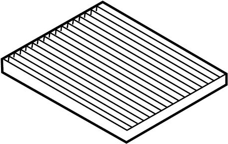 2015 Hyundai Sonata Cabin Air Filter Filter Filter